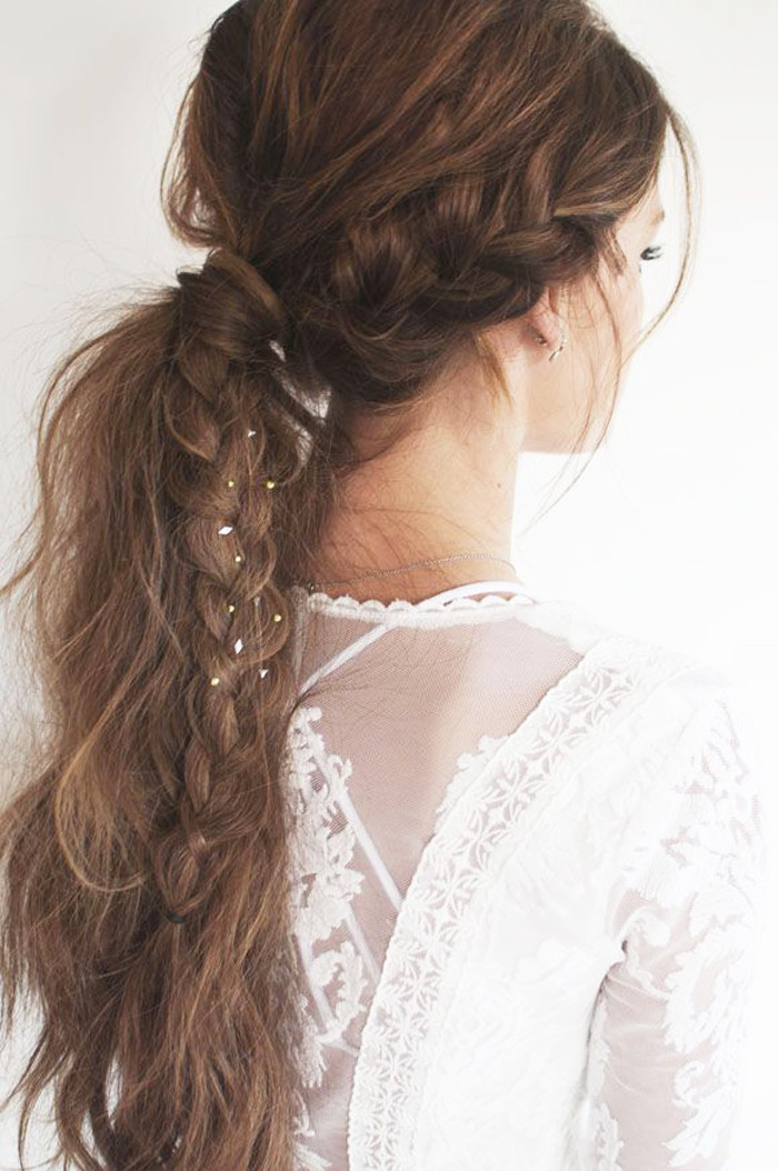 Best ideas about Braid Ponytail Hairstyles . Save or Pin Different Cute Ponytail Hairstyles for Long Hair Now.