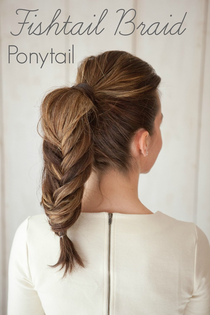 Best ideas about Braid Ponytail Hairstyles . Save or Pin Top 10 Beautiful and Easy Ponytail Hairstyles Top Inspired Now.