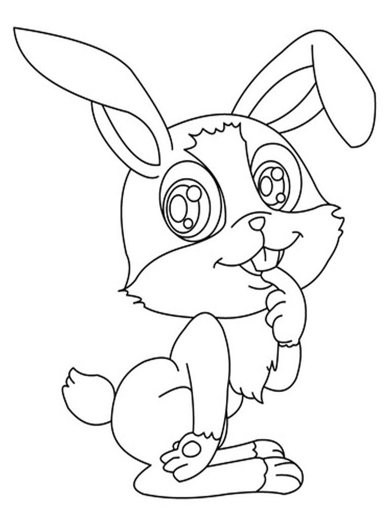 Best ideas about Bunny Coloring Sheet . Save or Pin Bunny Coloring Pages Best Coloring Pages For Kids Now.