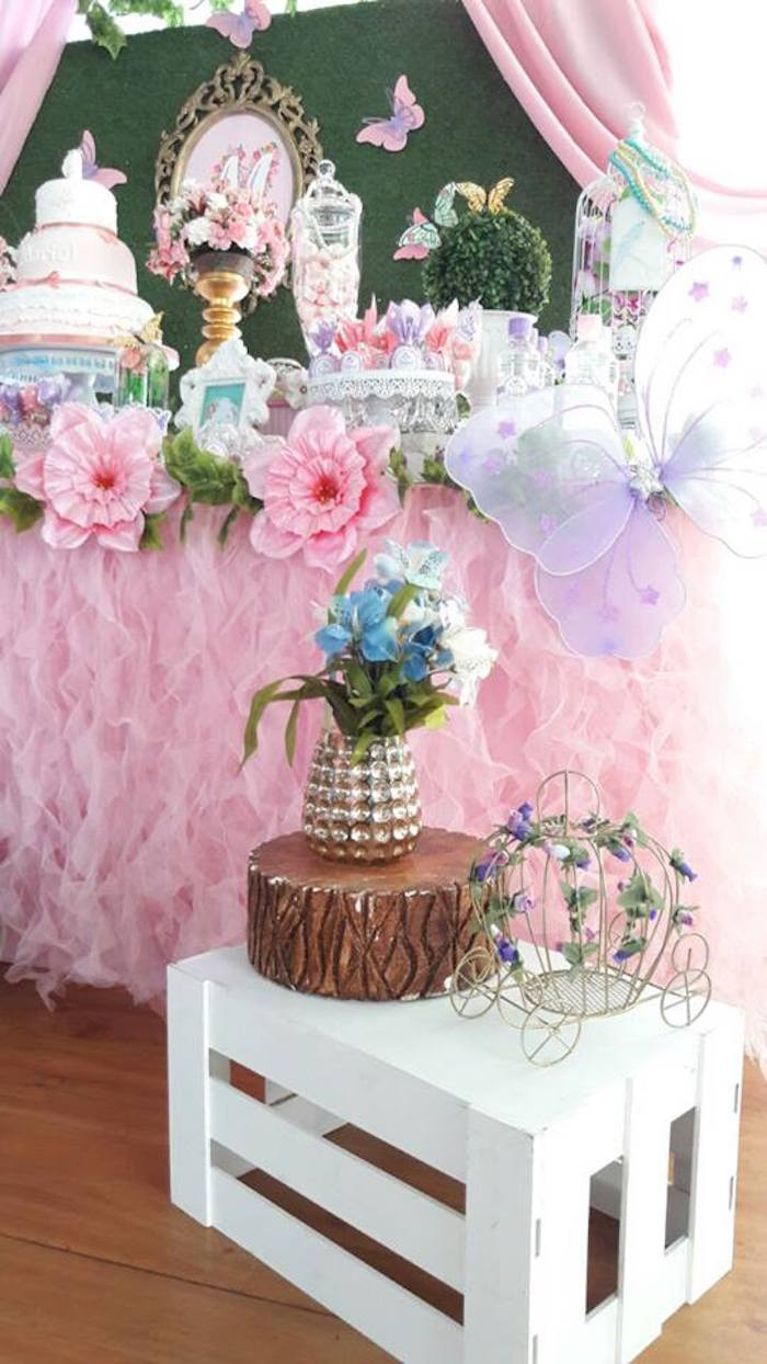 Best ideas about Butterfly Birthday Party Decorations . Save or Pin Kara s Party Ideas Beautiful Butterfly Birthday Party Now.