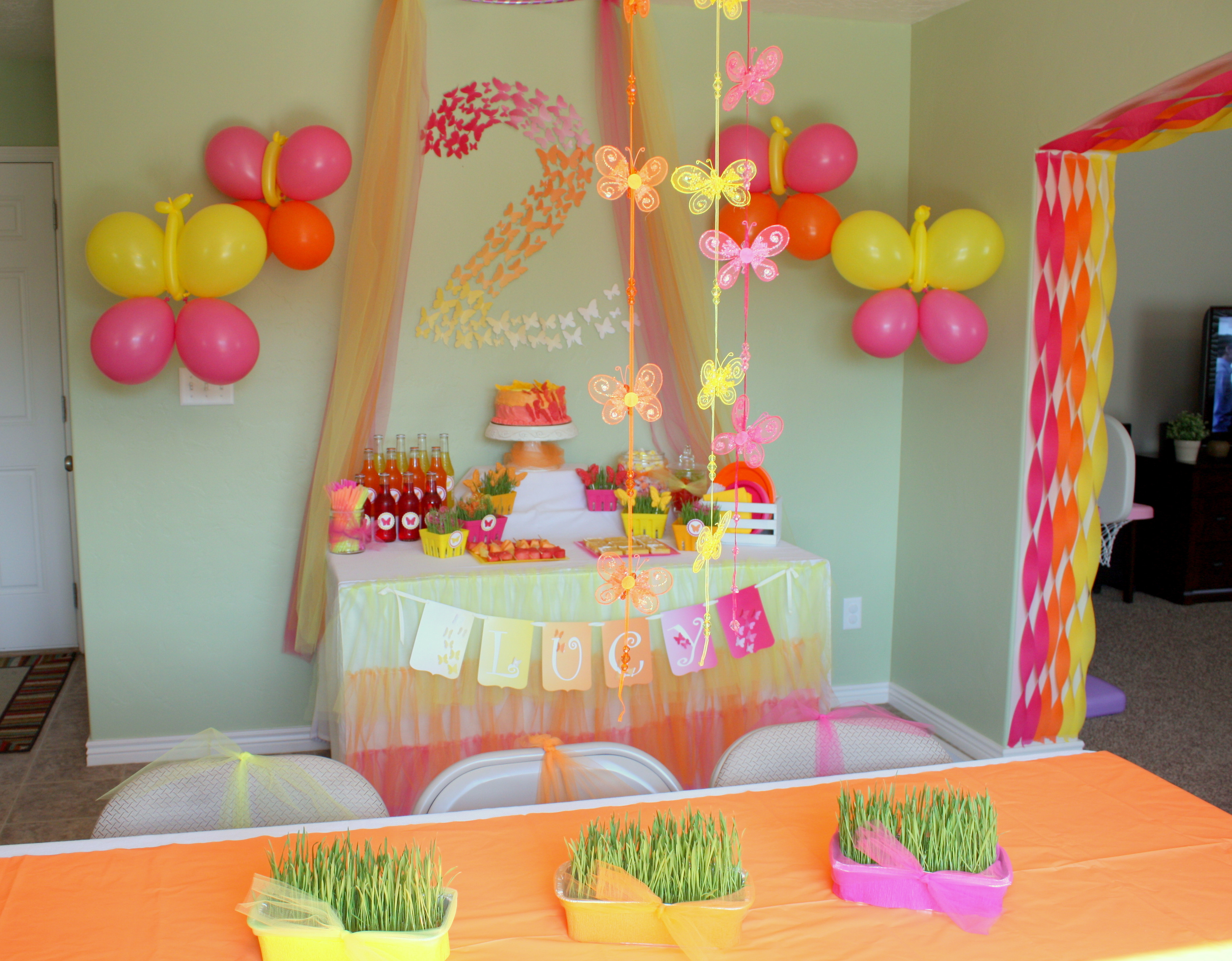 Best ideas about Butterfly Birthday Party Decorations . Save or Pin Butterfly Themed Birthday Party Decorations events to Now.