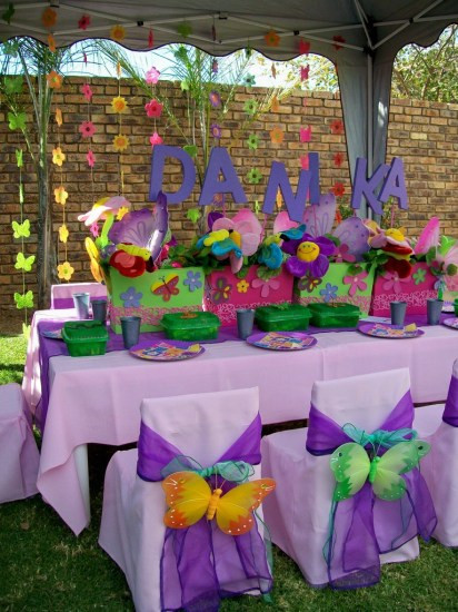 Best ideas about Butterfly Birthday Party Decorations . Save or Pin Butterfly Birthday Party Ideas Birthday Party Ideas & Themes Now.