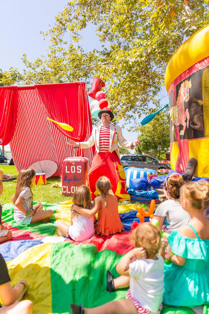 Best ideas about Carnival Birthday Party Rentals . Save or Pin Kara s Party Ideas Circus Big Top Birthday Party Now.