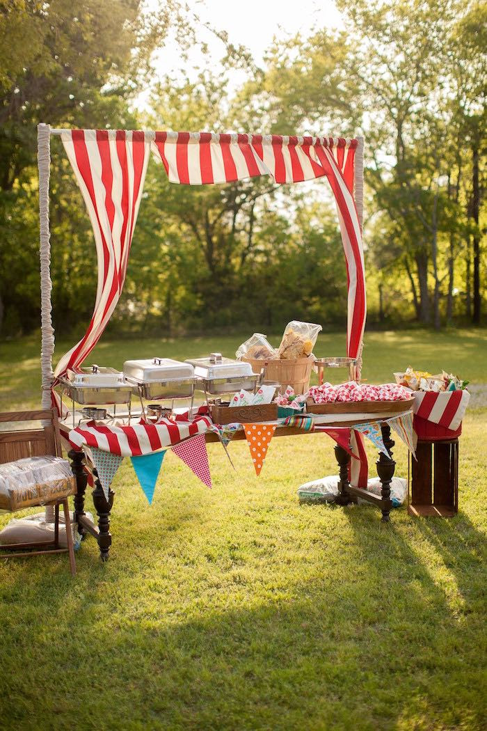 Best ideas about Carnival Birthday Party Rentals . Save or Pin Kara s Party Ideas Carnival Themed Gender Reveal Party Now.