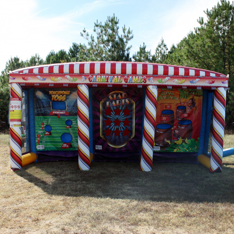 Best ideas about Carnival Birthday Party Rentals . Save or Pin Carnival Games 3 in 1 • Deborah s Party Rentals Now.