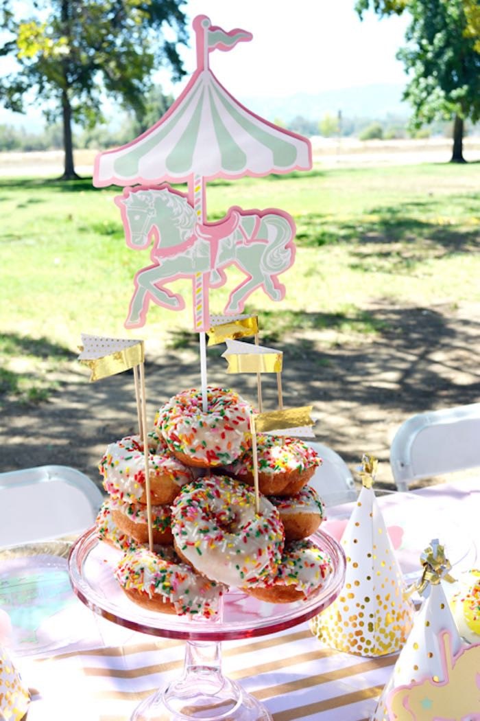 Best ideas about Carousel Birthday Party . Save or Pin Kara s Party Ideas Carousel 1st Birthday Party Now.