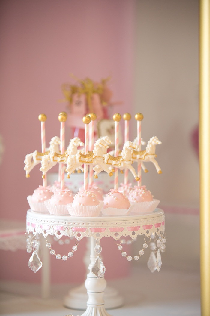 Best ideas about Carousel Birthday Party . Save or Pin Kara s Party Ideas Pink Carousel Birthday Party Now.