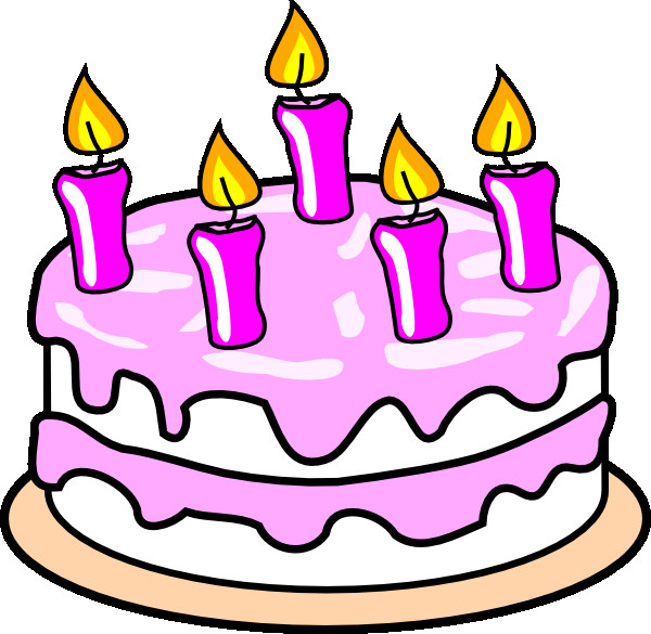 Best ideas about Cartoon Birthday Cake . Save or Pin Girl S Birthday Cake Clip Art at Clker vector clip Now.
