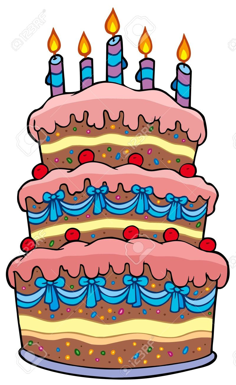 Best ideas about Cartoon Birthday Cake . Save or Pin Cake clipart cartoon Pencil and in color cake clipart Now.