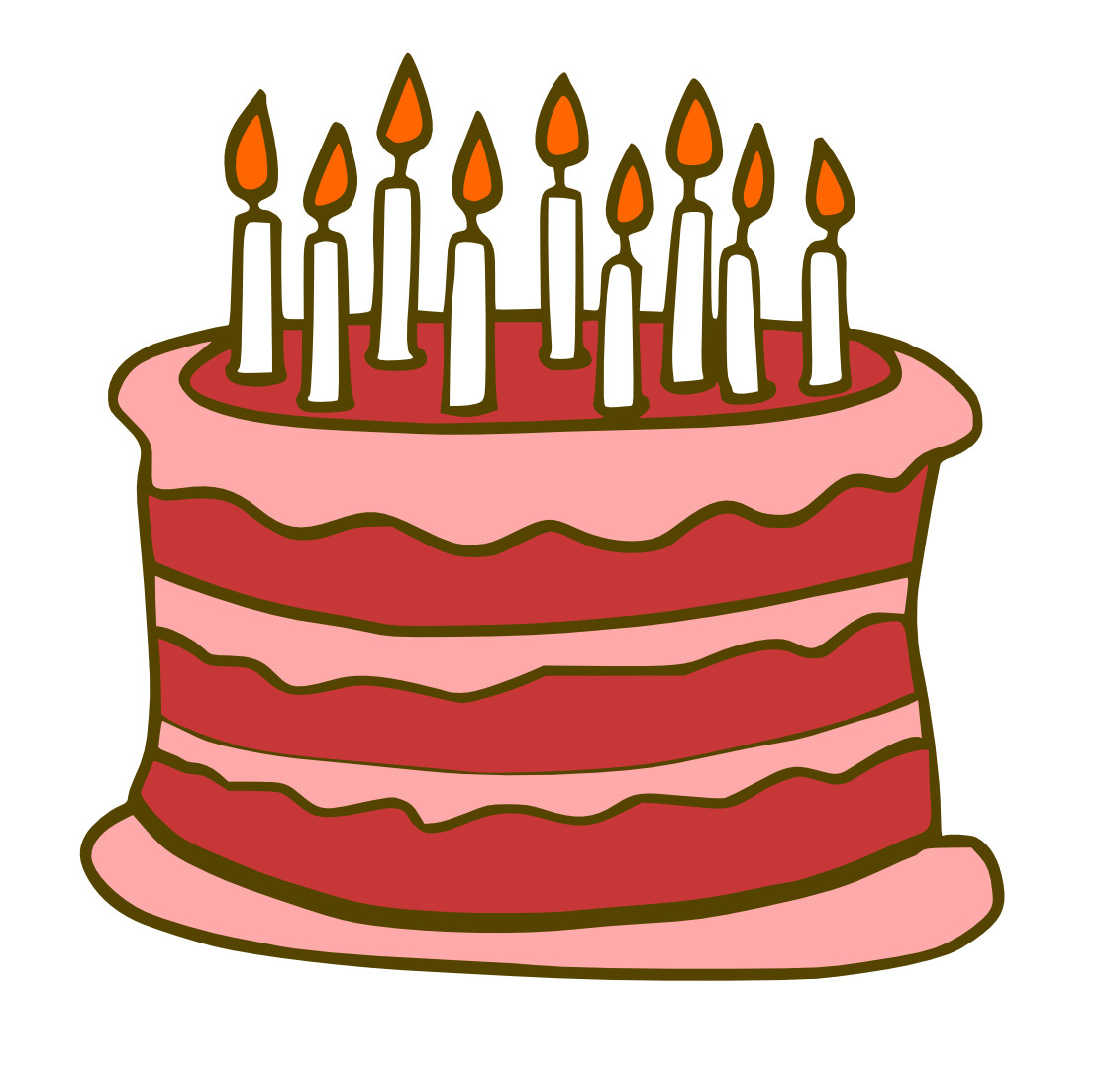 Best ideas about Cartoon Birthday Cake . Save or Pin Free Birthday Cake Cartoon Download Free Clip Art Free Now.