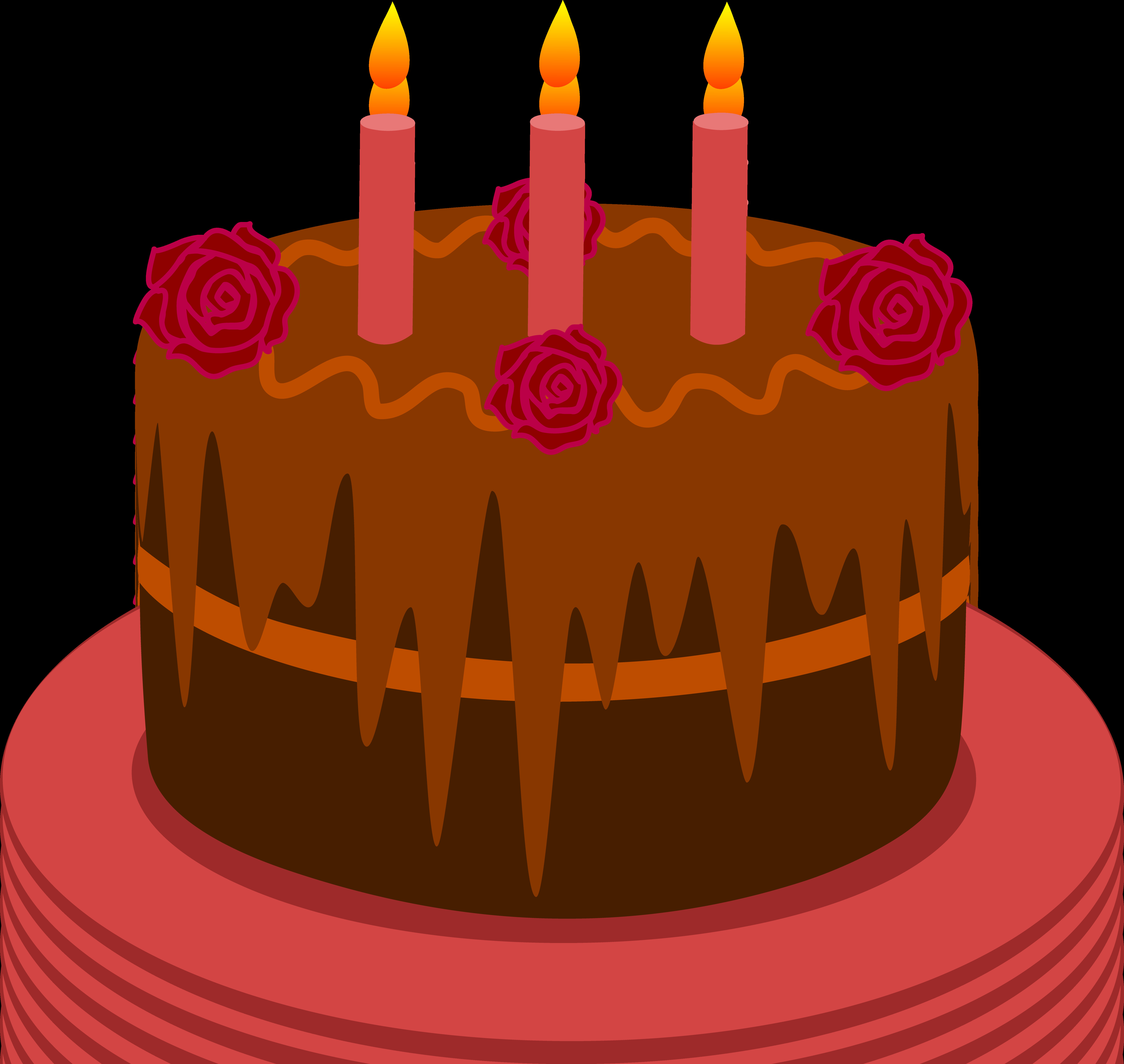 Best ideas about Cartoon Birthday Cake . Save or Pin Cake clipart 2 candle Pencil and in color cake clipart 2 Now.