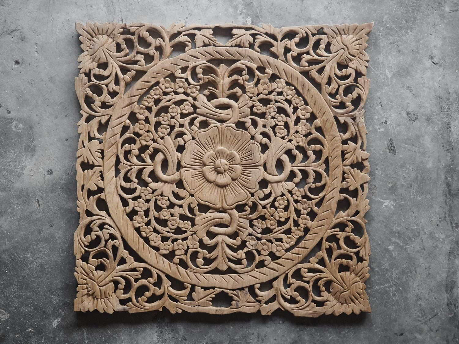 Best ideas about Carved Wood Wall Art . Save or Pin 20 s Wood Carved Wall Art Panels Now.