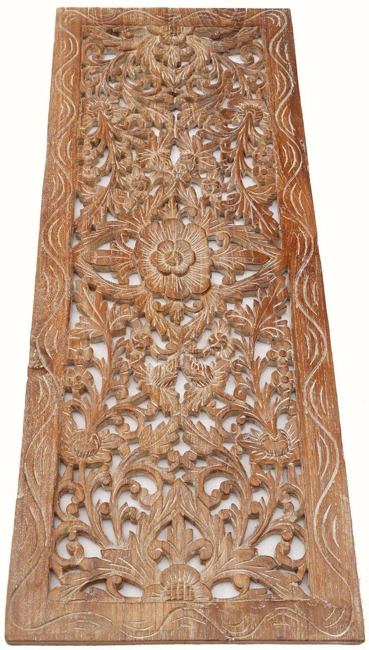 Best ideas about Carved Wood Wall Art . Save or Pin 2019 Best of Wooden Wall Art Panels Now.