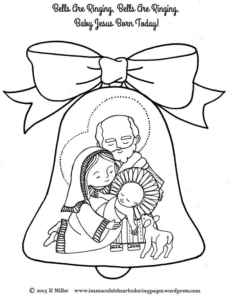 Best ideas about Catholic Christmas Coloring Pages For Kids . Save or Pin 17 Best images about Catholic Kids Advent and Christmas on Now.