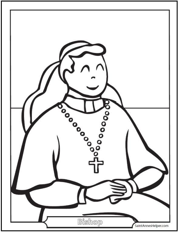 Best ideas about Catholic Christmas Coloring Pages For Kids . Save or Pin 150 Catholic Coloring Pages Sacraments Rosary Saints Now.