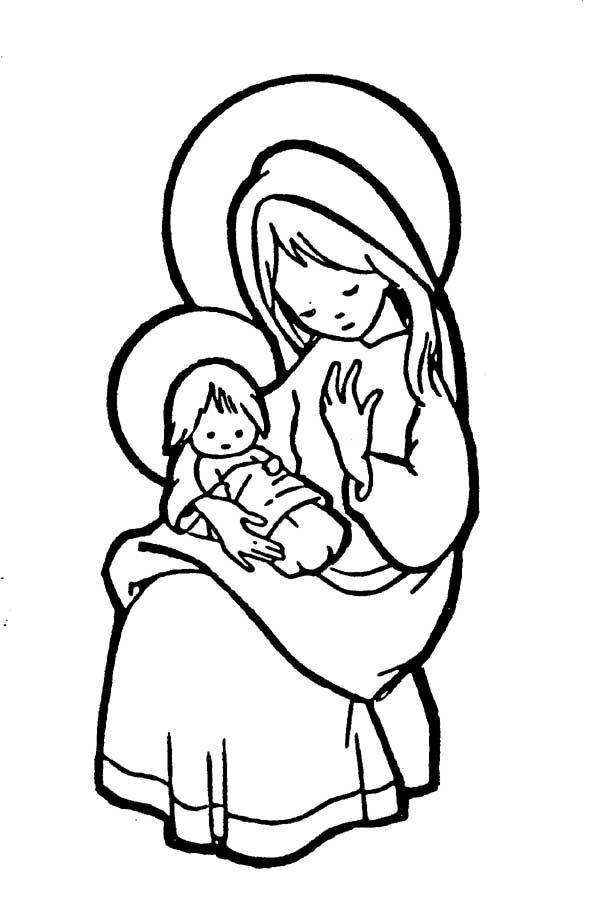 Best ideas about Catholic Christmas Coloring Pages For Kids . Save or Pin 134 best Catholic Coloring Pages images on Pinterest Now.