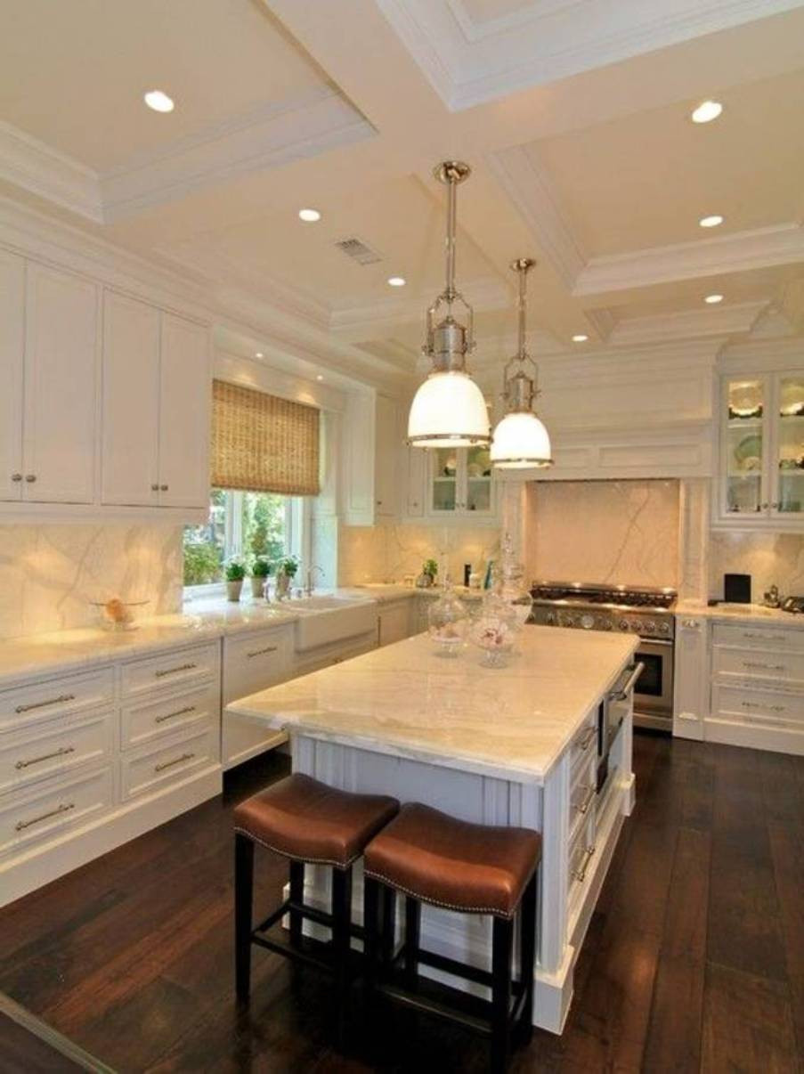 Best ideas about Ceiling Lights For Kitchen . Save or Pin Kitchen Ceiling Light Ideas brightnesskitchen recessed Now.