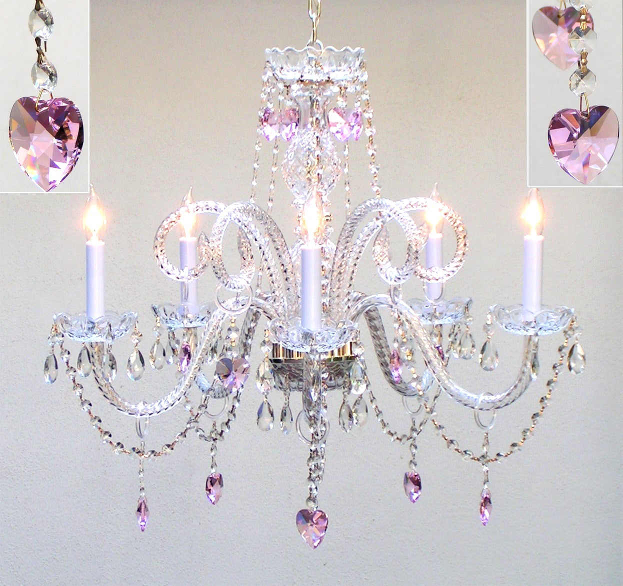 Best ideas about Chandeliers For Kids Room . Save or Pin Crystal Chandelier For Kids Room With Bedroom Modern Now.