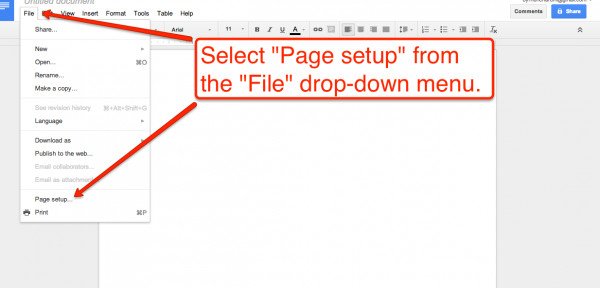 Best ideas about Change To Landscape In Google Docs . Save or Pin Practical Ed Tech Tip of the Week Creating Google Now.
