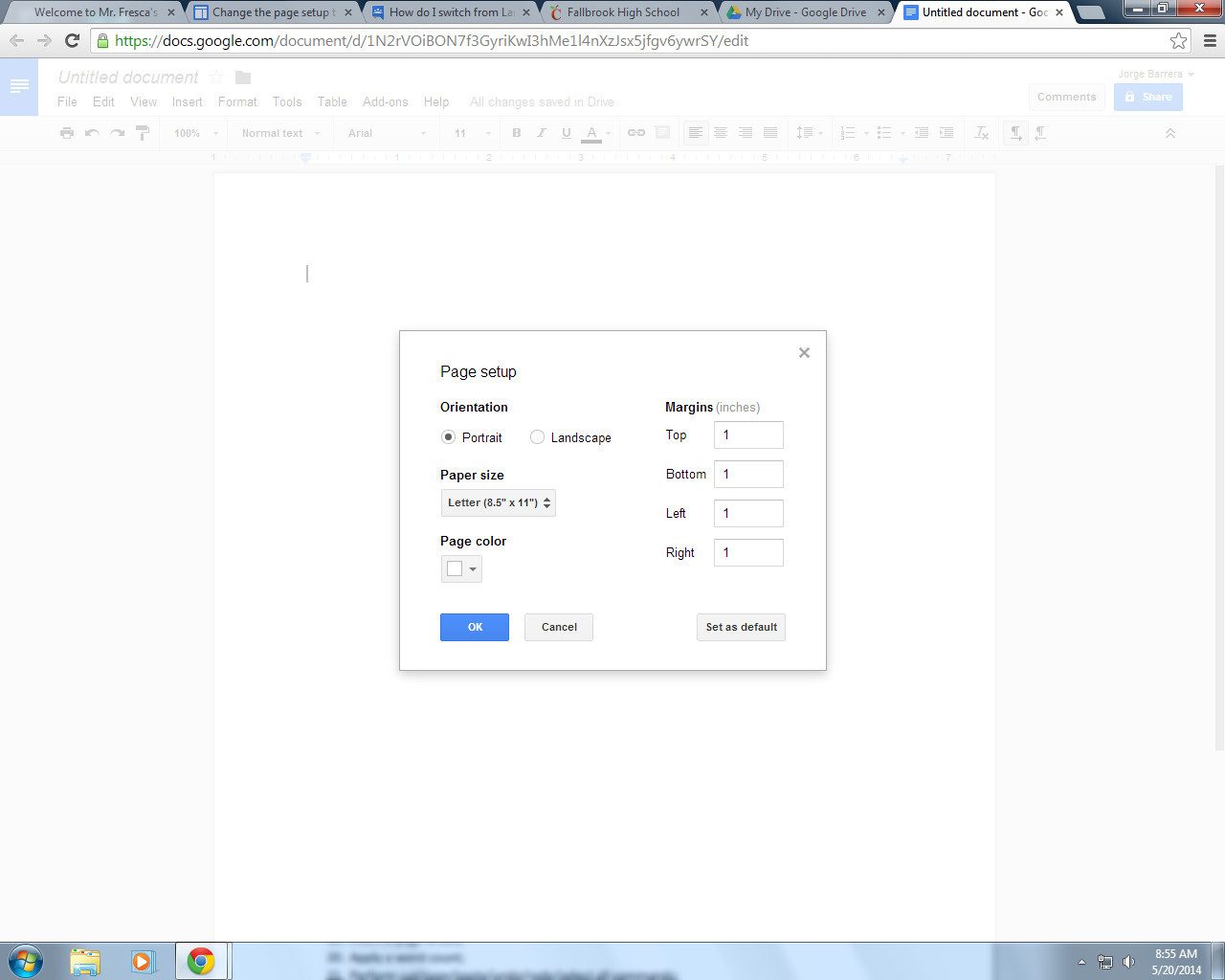 Best ideas about Change To Landscape In Google Docs . Save or Pin How To Change Portrait And Landscape Mode In Google Docs Now.