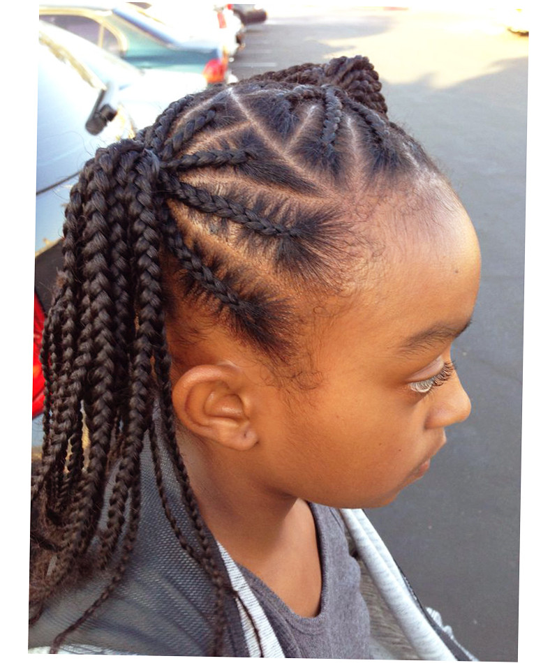 Best ideas about Children Hairstyles Braids . Save or Pin African American Kids Hairstyles 2016 Ellecrafts Now.