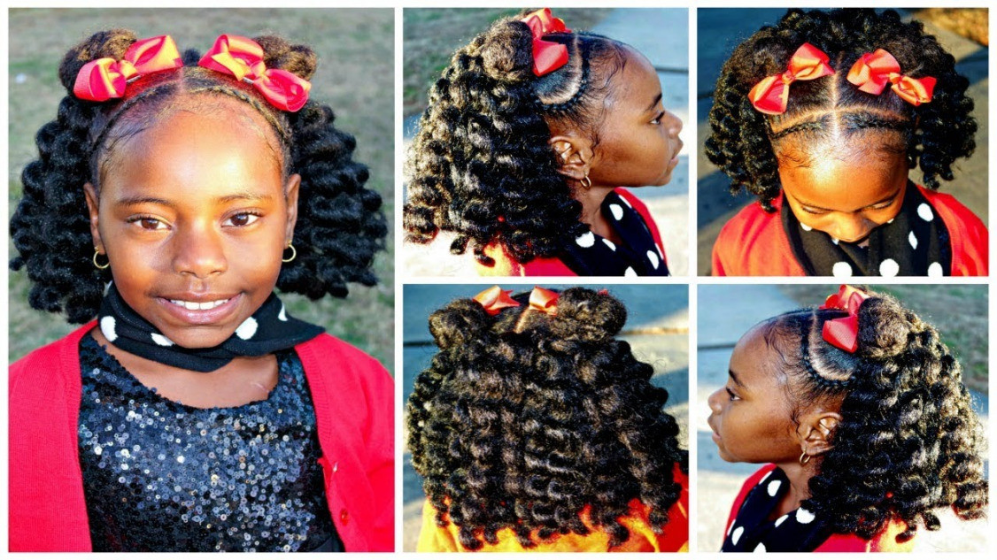 Best ideas about Children'S Natural Hairstyles . Save or Pin Christmas Dance Hair Short Crochet Hairstyle Now.