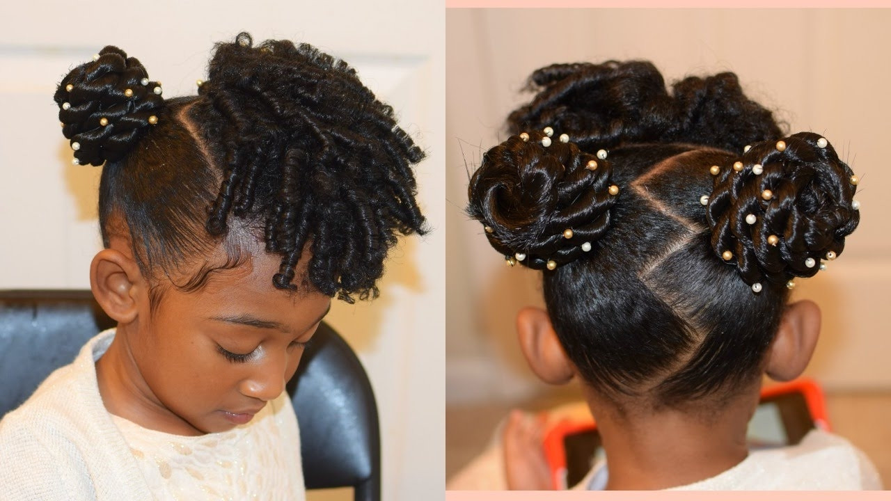 Best ideas about Children'S Natural Hairstyles . Save or Pin 15 Best Collection of Children s Updo Hairstyles Now.