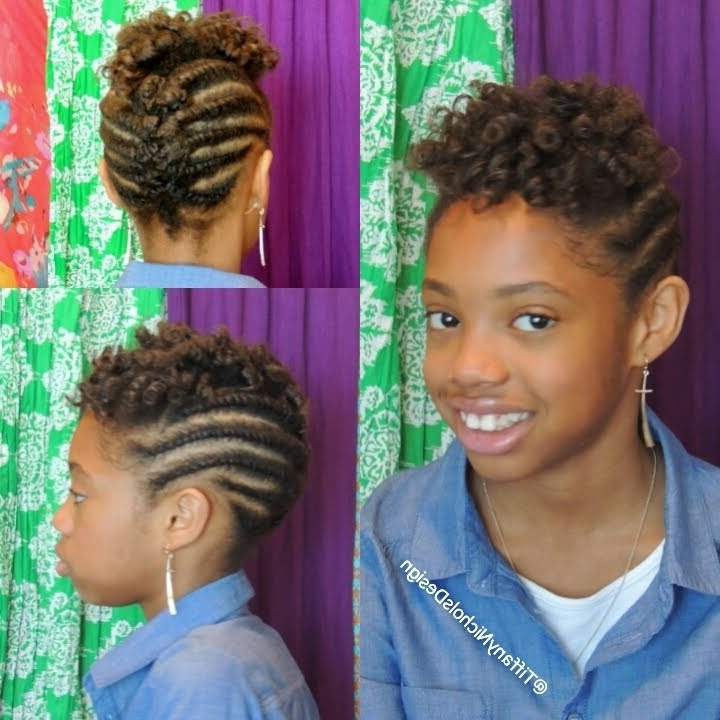 Best ideas about Children'S Natural Hairstyles . Save or Pin 15 Best Ideas of Children s Updo Hairstyles Now.