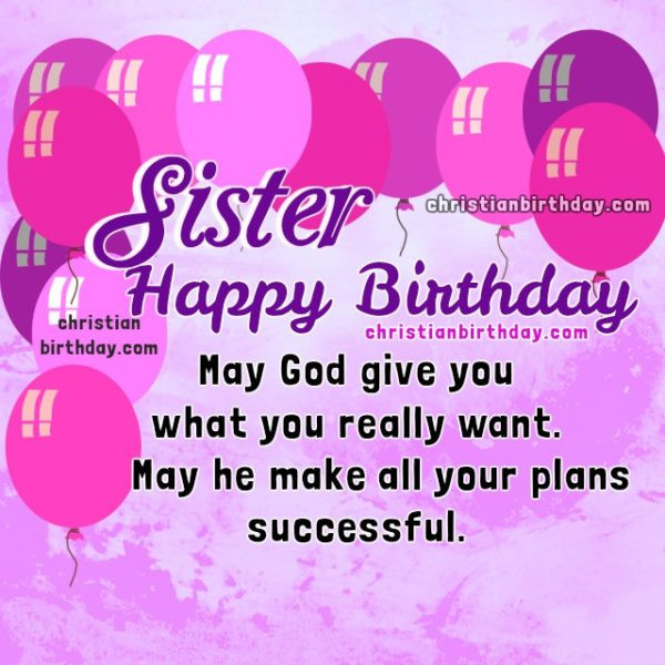 Best ideas about Christian Birthday Wishes For Sister . Save or Pin Happy Christian birthday wishes and Religious birthday Now.