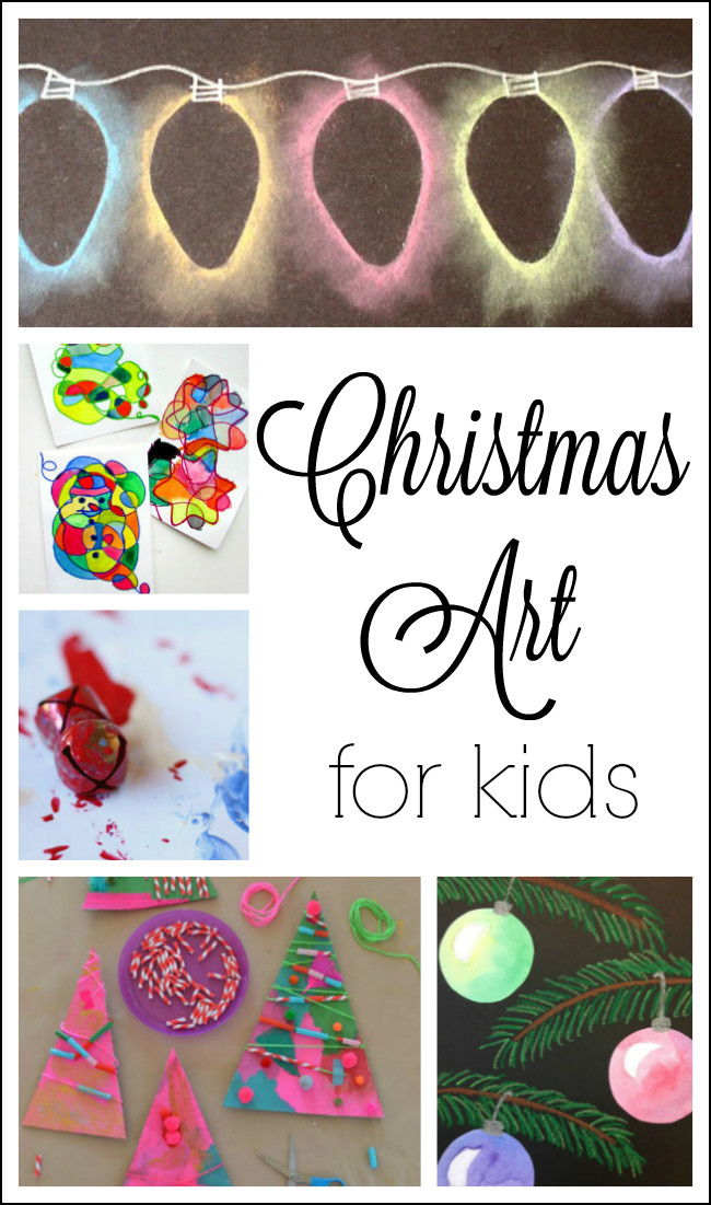 Best ideas about Christmas Artwork For Toddlers . Save or Pin Christmas Art for Kids How Wee Learn Now.