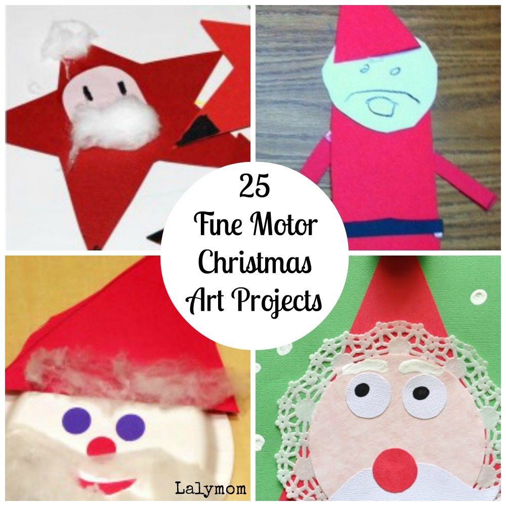 Best ideas about Christmas Artwork For Toddlers . Save or Pin Fine Motor Christmas Art Projects [Fine Motor Fridays Now.