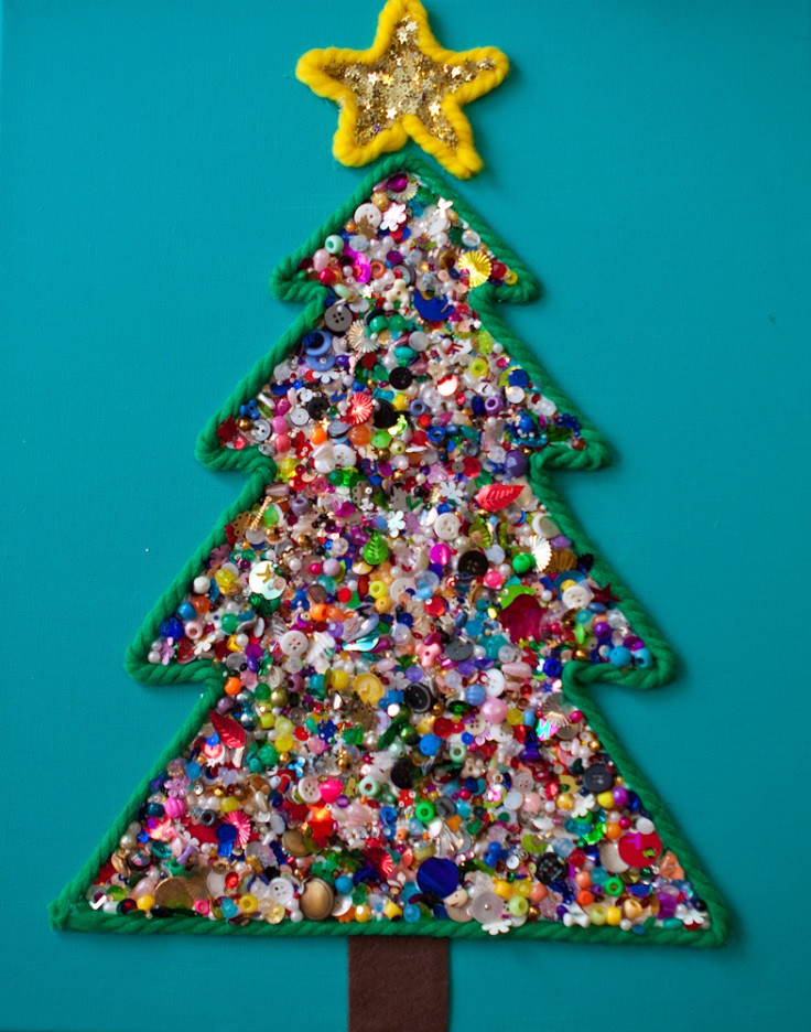 Best ideas about Christmas Artwork For Toddlers . Save or Pin christmas craft preschool Now.