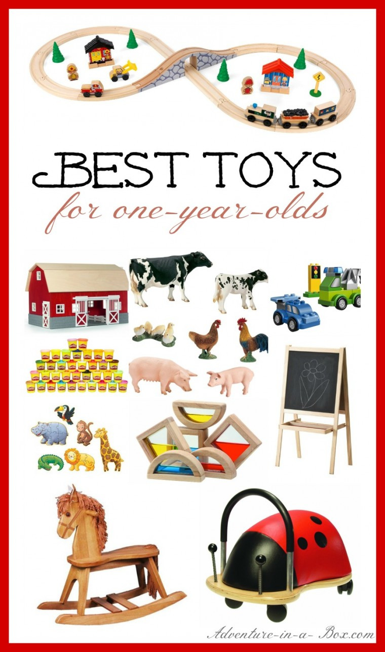 Best ideas about Christmas Gift Ideas For 1 Year Old Boys . Save or Pin Best Toys for e Year Olds Now.
