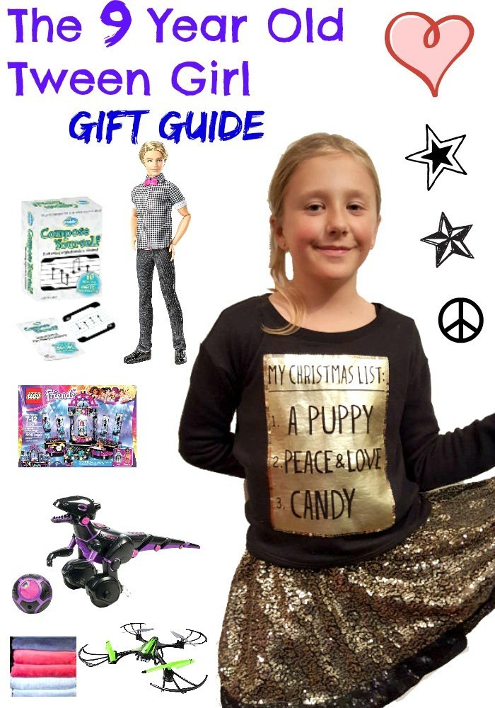 Best ideas about Christmas Gift Ideas For 9 Year Old Girl . Save or Pin Gifts Your 9 Year Old Tween Girl Will Love I love My Now.