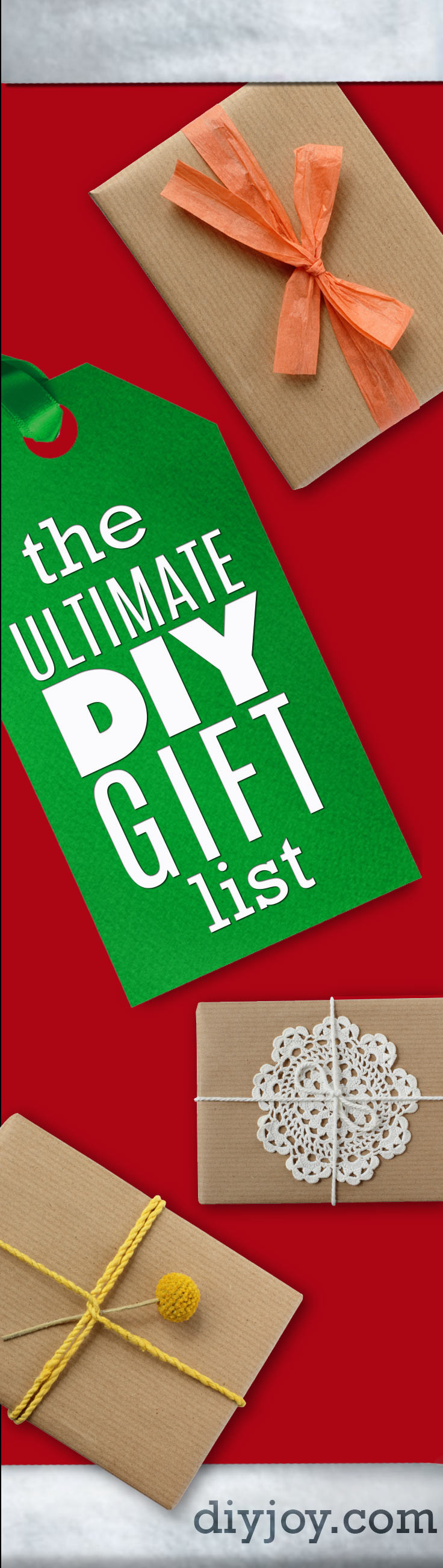 Best ideas about Christmas Gift Ideas For Boyfriends Parents . Save or Pin The Ultimate DIY Christmas Gifts list Now.