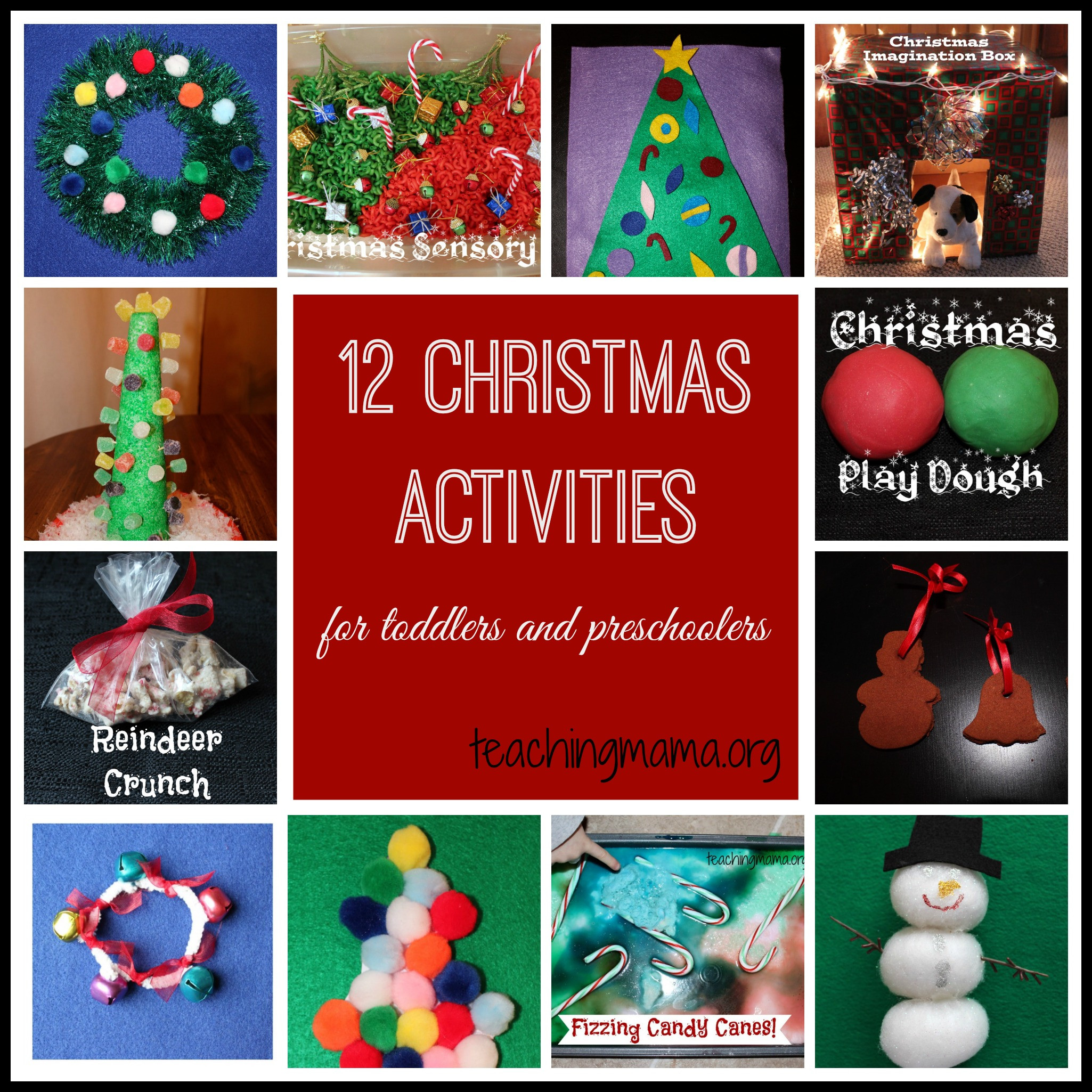 Best ideas about Christmas Projects For Preschoolers . Save or Pin Christmas Activities for Toddlers and Preschoolers Now.