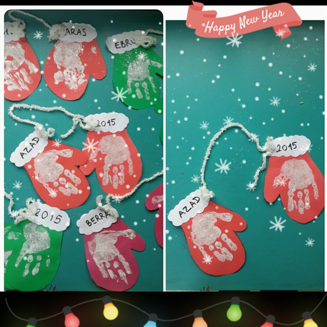 Best ideas about Christmas Projects For Preschoolers . Save or Pin Kindergarten Christmas Crafts – Happy Holidays Now.
