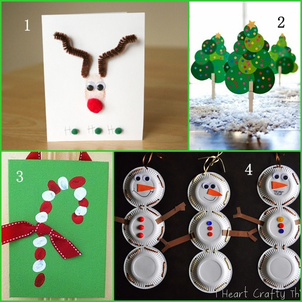 Best ideas about Christmas Projects For Preschoolers . Save or Pin Simple Christmas Crafts – Happy Holidays Now.