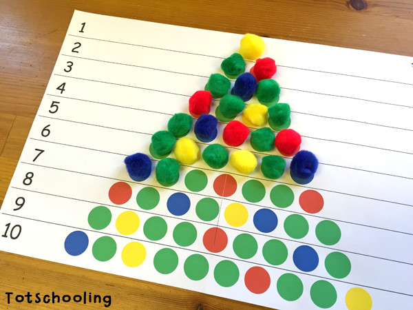 Best ideas about Christmas Projects For Preschoolers . Save or Pin Christmas Tree Learning Activities for Toddlers & PreK Now.