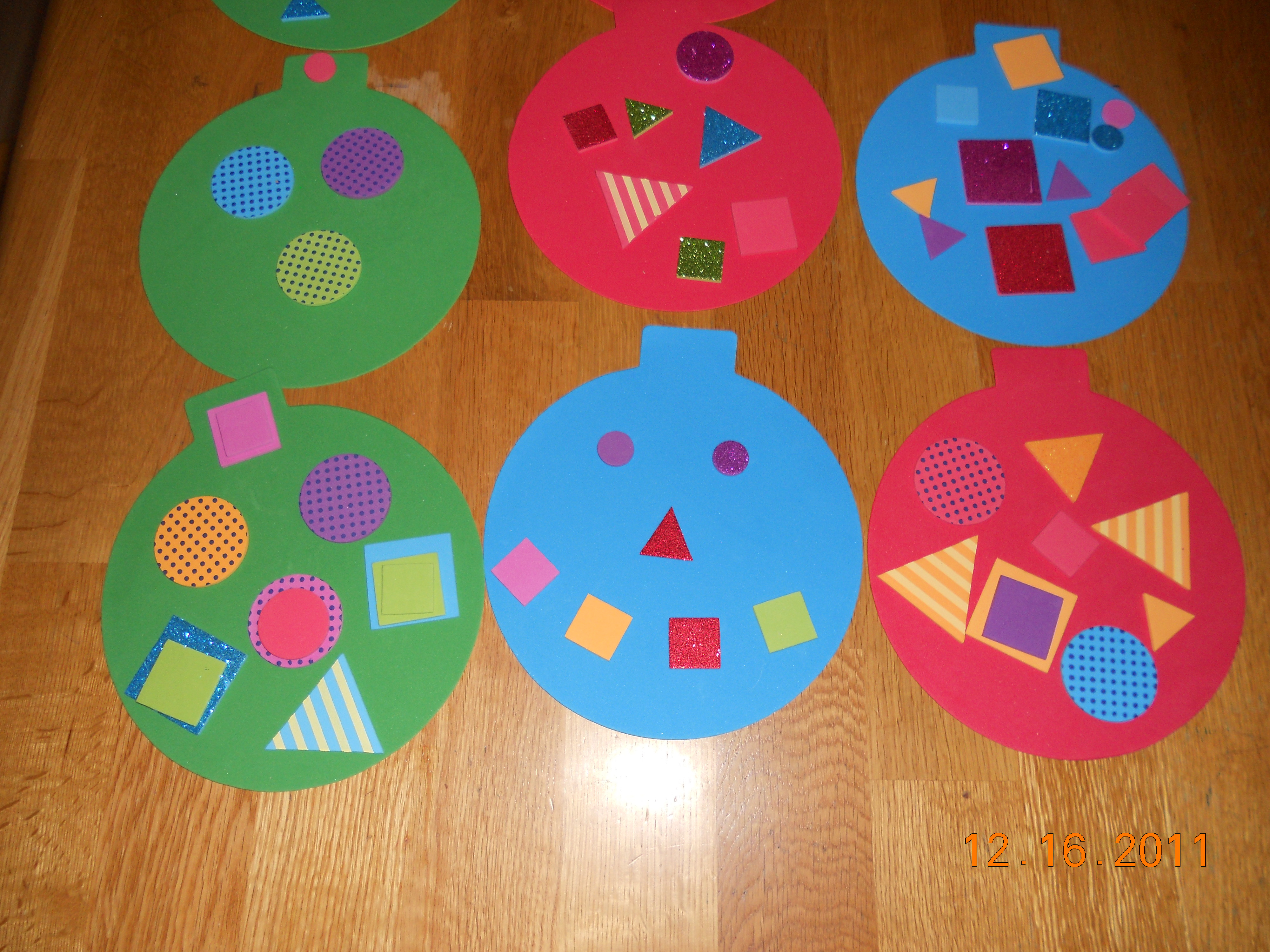 Best ideas about Christmas Projects For Preschoolers . Save or Pin Preschool Crafts for Kids Easy Christmas Ornament Craft Now.