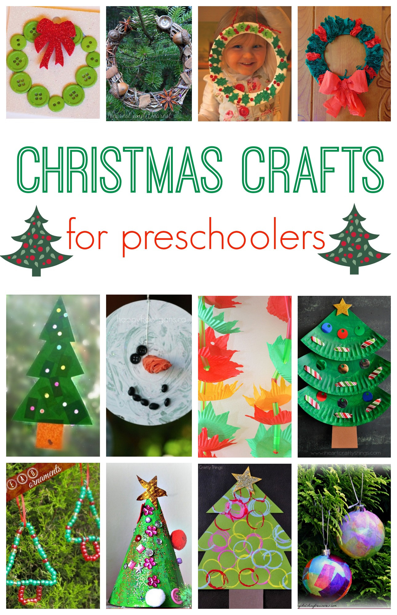 Best ideas about Christmas Projects For Preschoolers . Save or Pin 101 Christmas Crafts for Kids Here e the Girls Now.