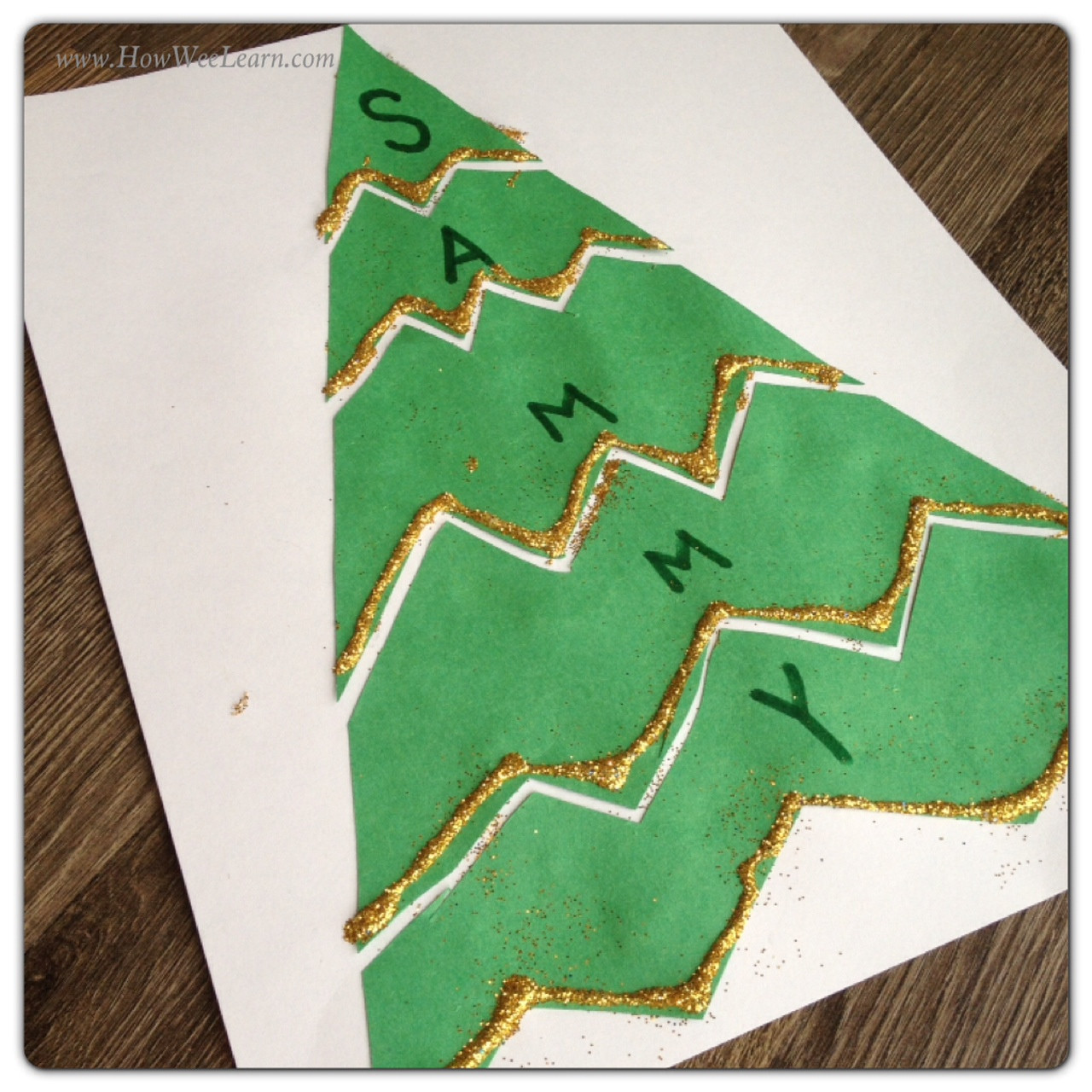 Best ideas about Christmas Projects For Preschoolers . Save or Pin Preschool Christmas Projects Name Puzzles How Wee Learn Now.