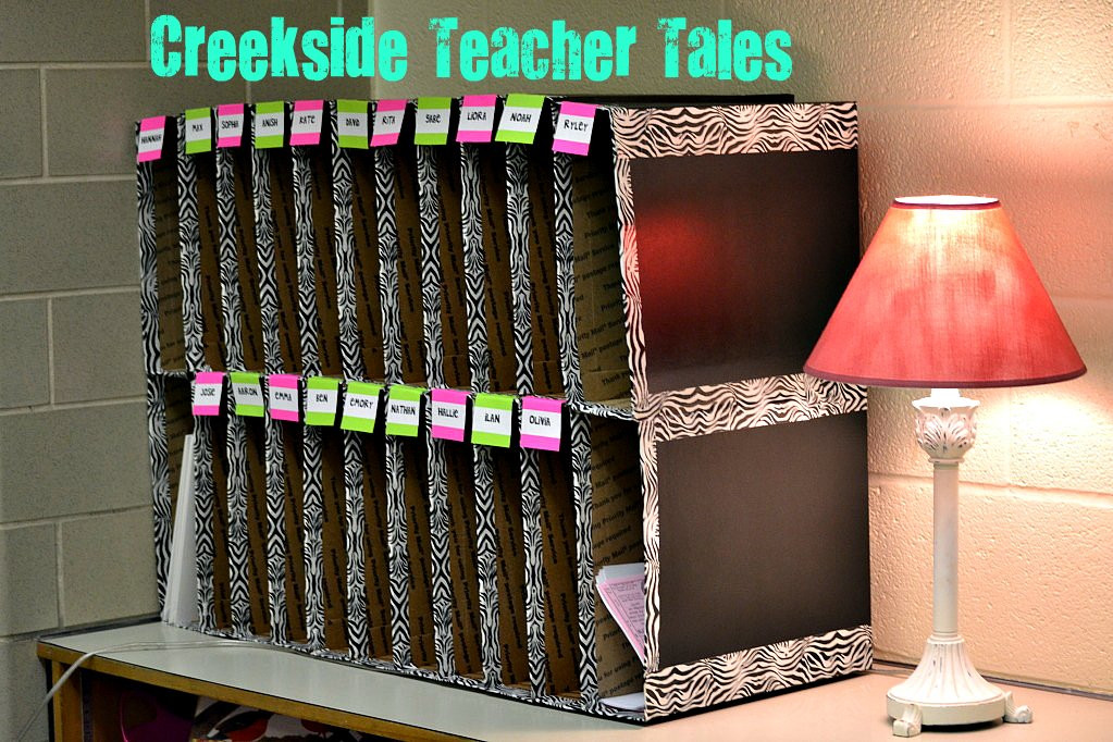 Best ideas about Classroom Mailboxes DIY . Save or Pin Classroom Creekside Teacher Tales Now.