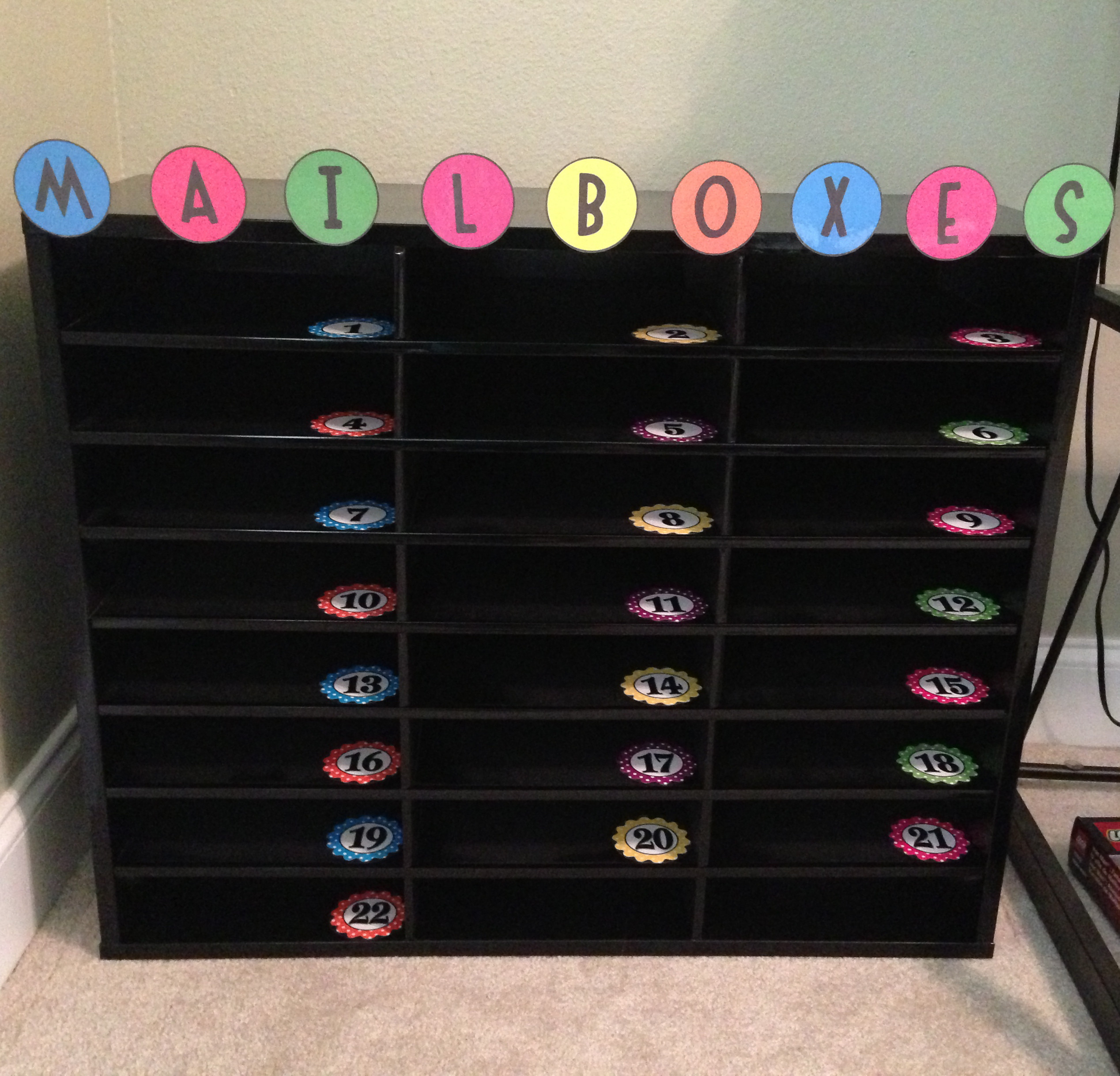 Best ideas about Classroom Mailboxes DIY . Save or Pin Student Mailboxes Sanity Saver – I Love Labels Now.