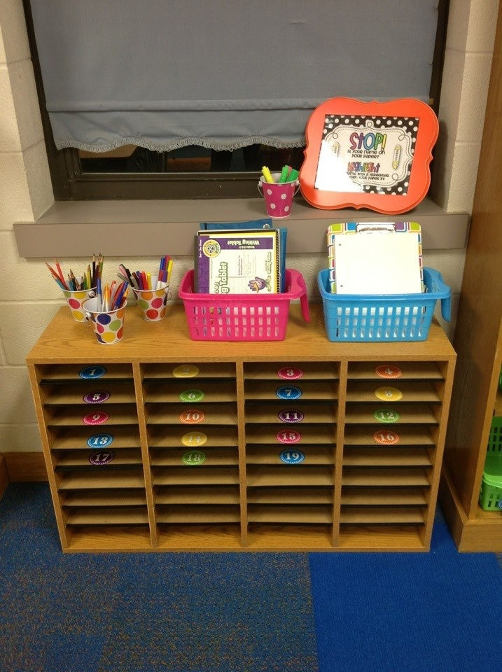 Best ideas about Classroom Mailboxes DIY . Save or Pin Student Mailboxes 2nd Grade Classroom 2012 Now.