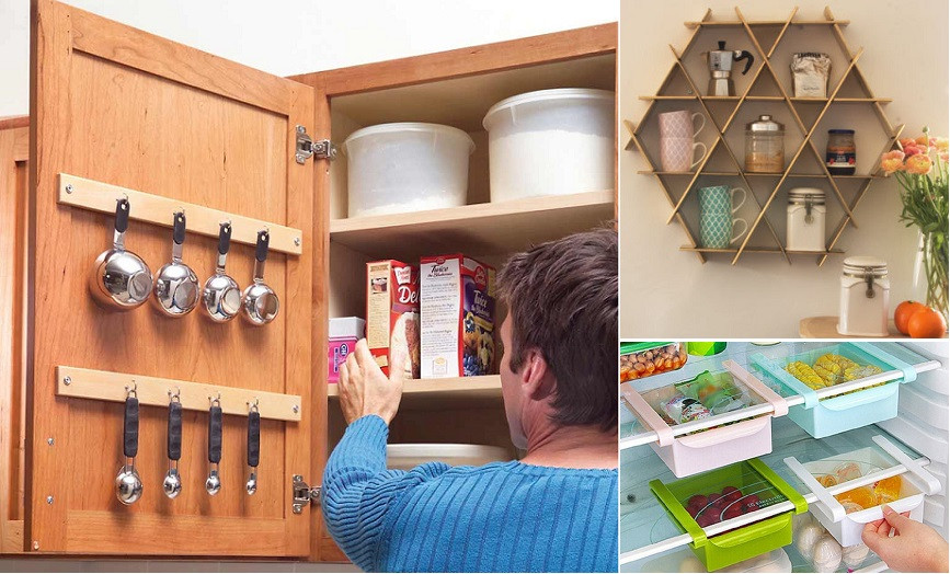 Best ideas about Clever Kitchen Ideas . Save or Pin Quick and Clever Kitchen Storage Ideas Now.