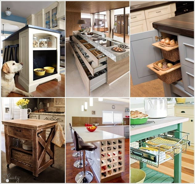 Best ideas about Clever Kitchen Ideas . Save or Pin 15 Clever Kitchen Island Hacks to Make it More Functional Now.