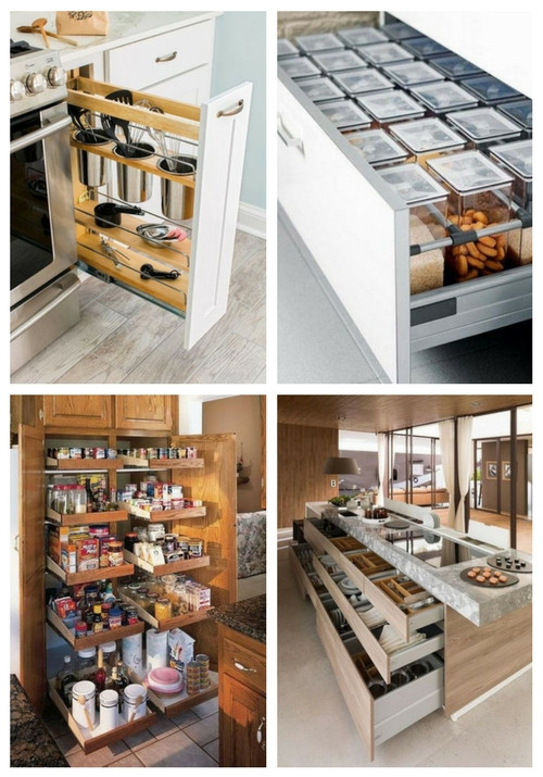 Best ideas about Clever Kitchen Ideas . Save or Pin 62 Clever Kitchen Organization Ideas Now.