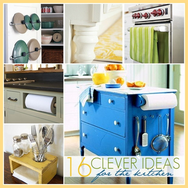 Best ideas about Clever Kitchen Ideas . Save or Pin The 36th AVENUE 15 DIY Home Improvement Projects Now.