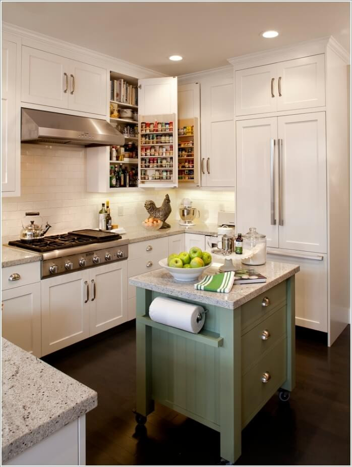 Best ideas about Clever Kitchen Ideas . Save or Pin 15 Clever Kitchen Towel Storage Ideas Now.